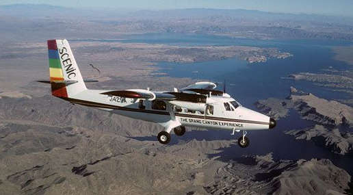 skywalk at grand canyon west las vegas tours twin otter